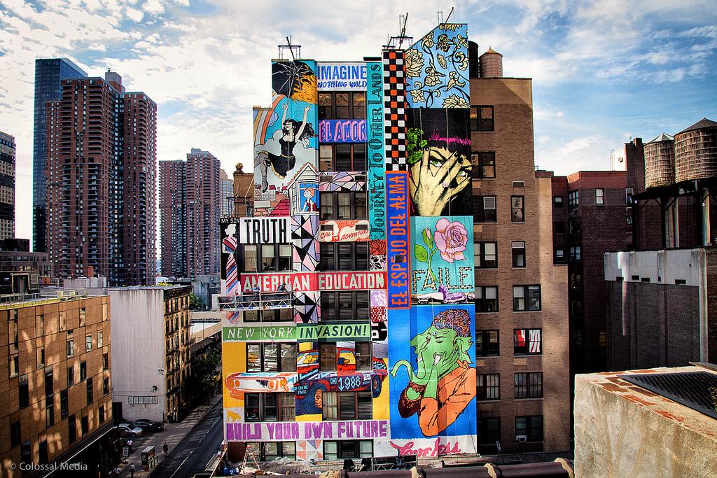 Tristan Eaton New Street Art For The Lisa Project - Little ... |Nyc Street Art