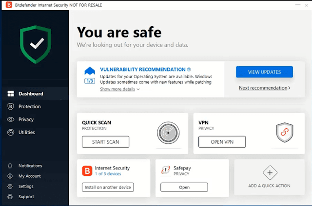 تحميل تفعيل bitdefender internet security 2019