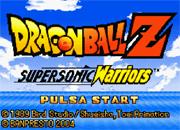 Dragonball Z Supersonic Warriors
