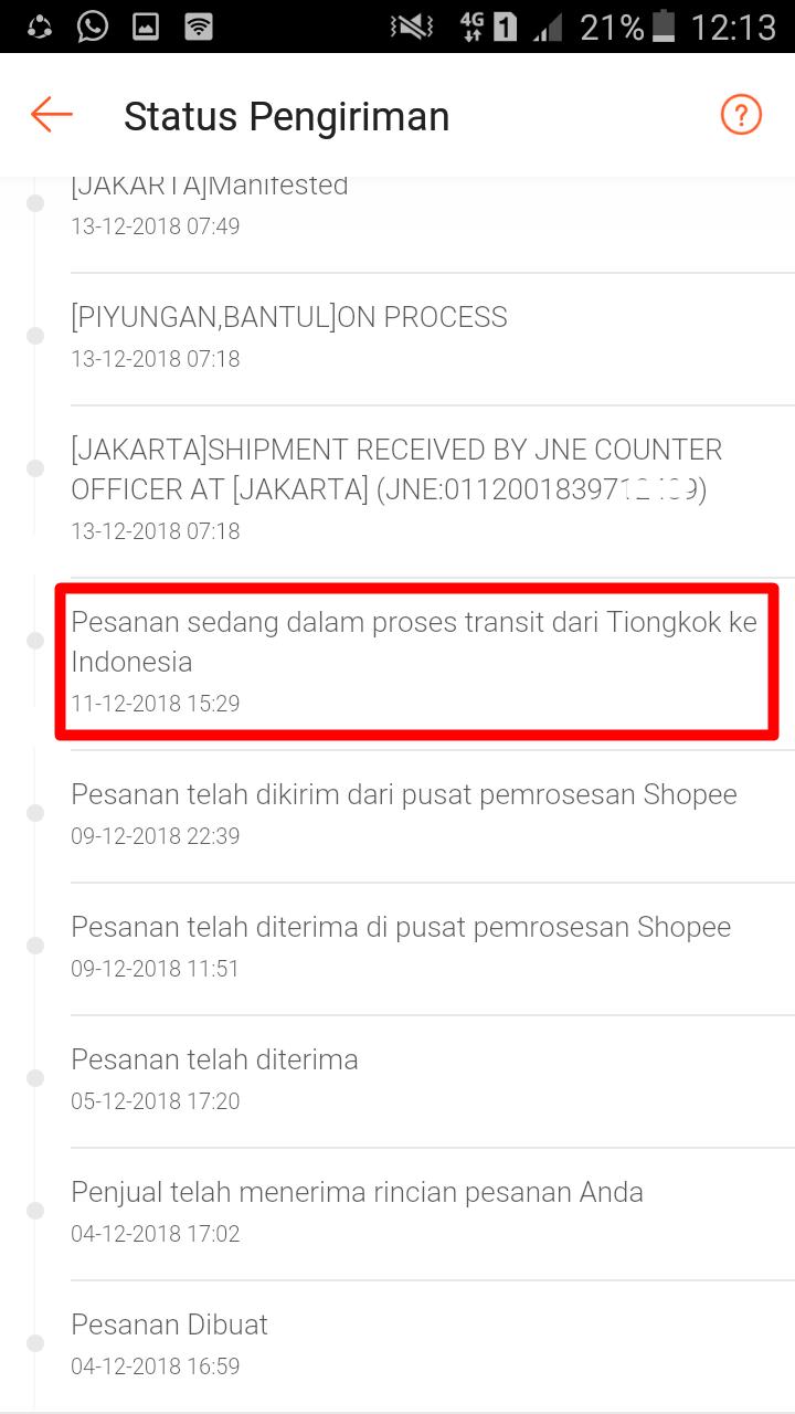 Cara Lacak Paket Kiriman Barang Standard Express