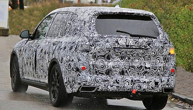 2019 BMW X7 Spy Shots
