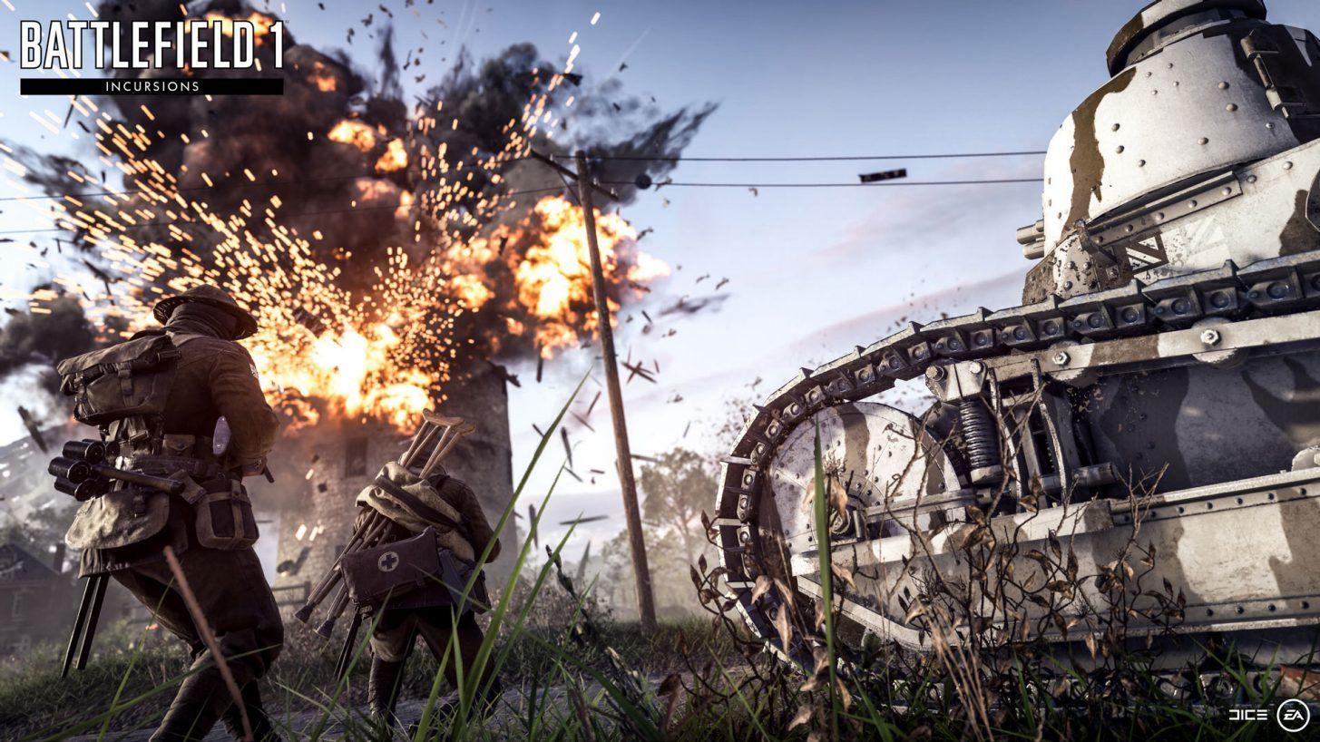 Battlefield 1 Invasões