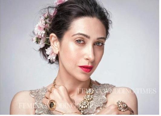 Karishma Kapoor Awesome Photoshoot for Cover of Femina Wedding Times Magazine July 2017