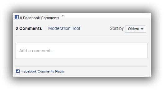 Cara Memasang Facebook Comment di Bawah Postingan