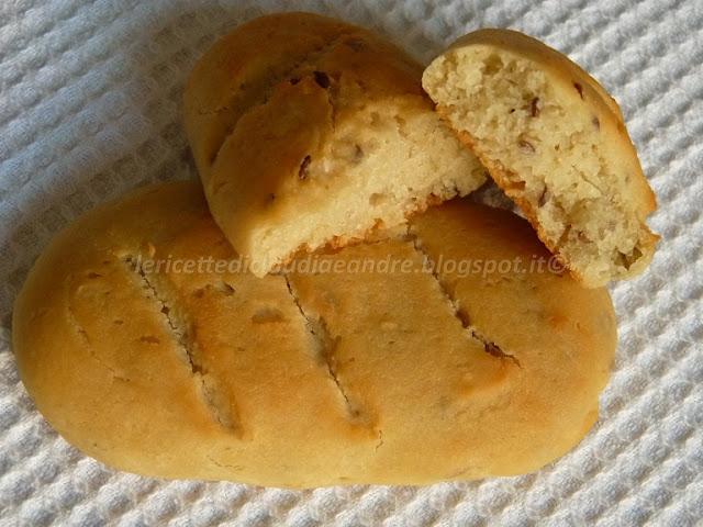 pane? biscotto? con farina di riso, ceci, kamut con mix di semi