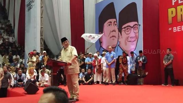 Tim Prabowo - Sandiaga: Pidato Soal Pelestina Dipelintir Media