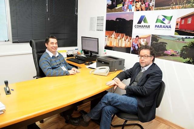 Cohapar e Instituto das Águas do Paraná reforçam parceria técnica