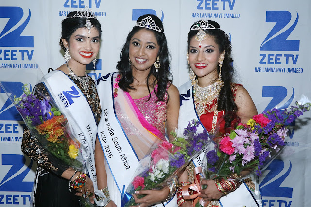 @ZeeTVAfrica Miss India South Africa Kwa-Zulu Natal 2016