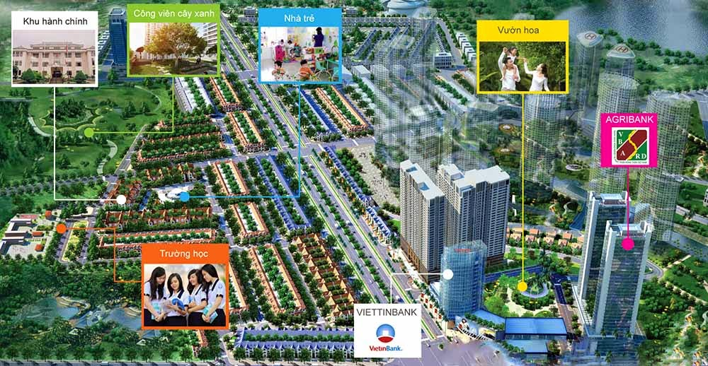 Quy hoạch tổng thể dự án chung cư Gemek Tower - Geleximco