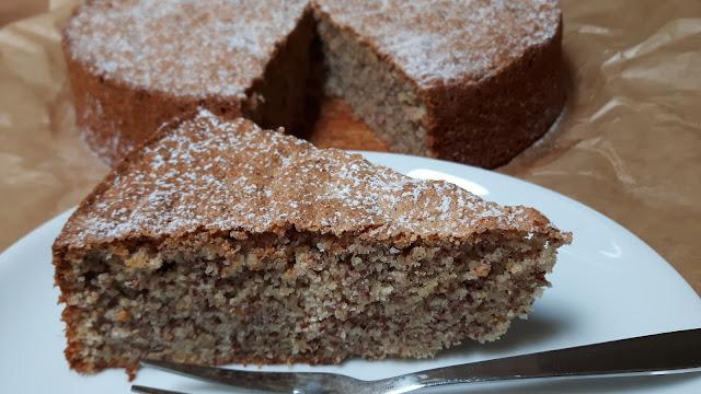 Mandelkuchen aus Mallorca - ohne Mehl