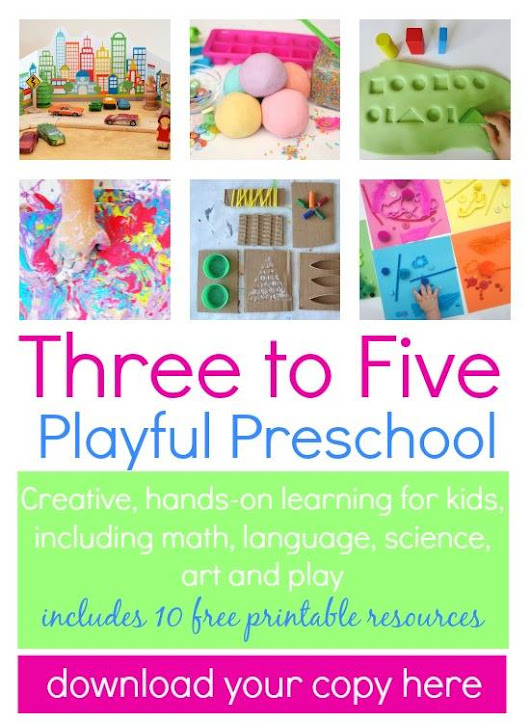 {Three to Five Playful Preschool: New Resource for Parents}
