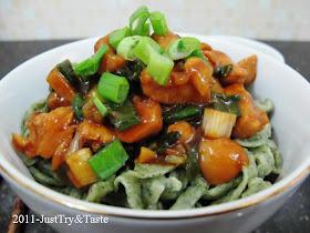 Resep Homemade Mie Bayam