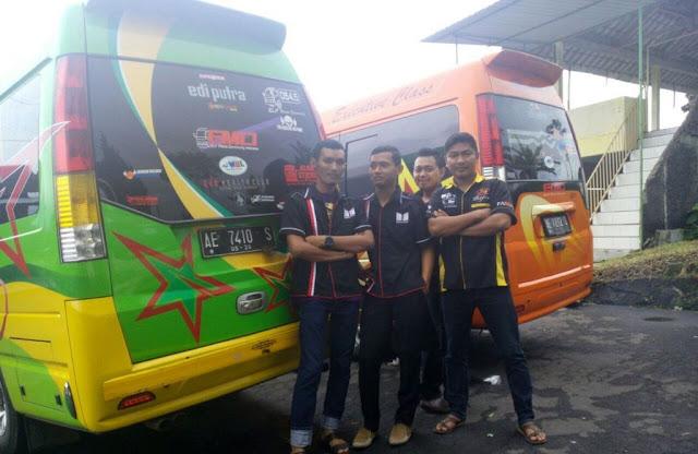 Sewa Mobil VIP Elf Bus Pariwisata Lengkap Sopir Harga Murah