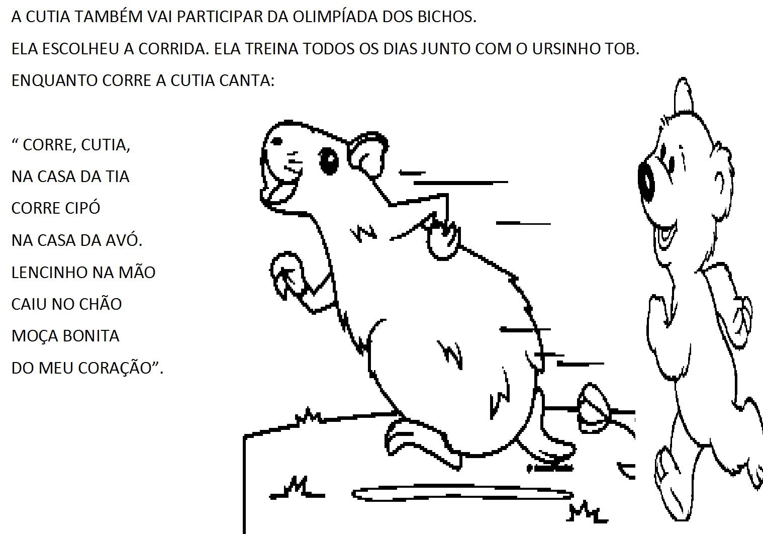 Conhecido PROFESSORA CALU, ALFABETIZAÇÃO COM AMOR: A OLIMPÍADAS DOS BICHOS HG36