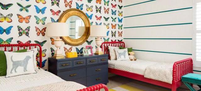 लड़कियों के कमरे में लगाने चाहिए ऐसे वॉलपेपर Wallpaper for girls room