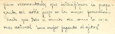 """Tercera y última página de dicho manuscrito """"misterioso"""" de Gloria Velat"""