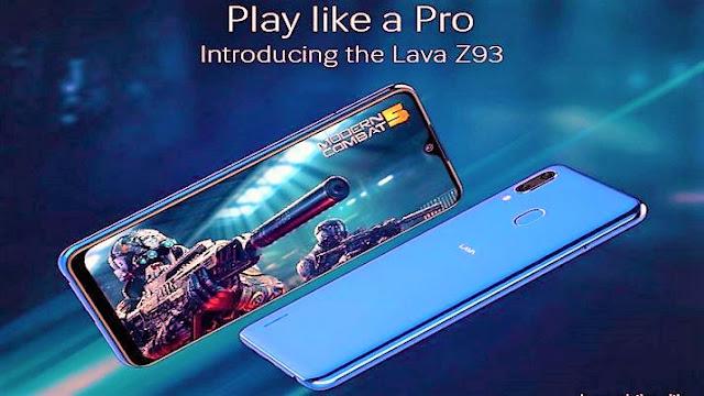 Lava Z93 Smartphone