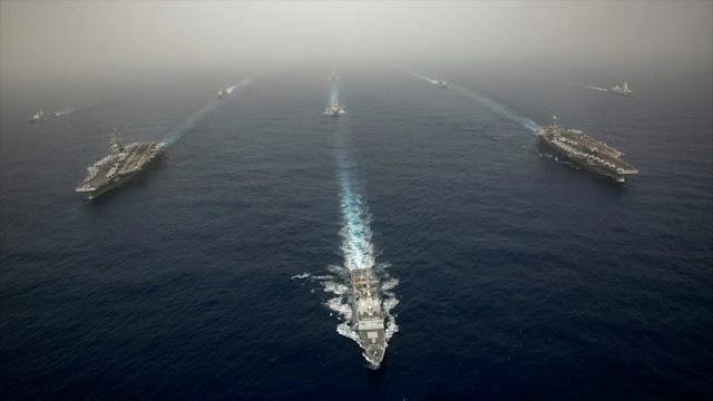 Fuente militar persa: USS Abraham Lincoln no está en Golfo Pérsico