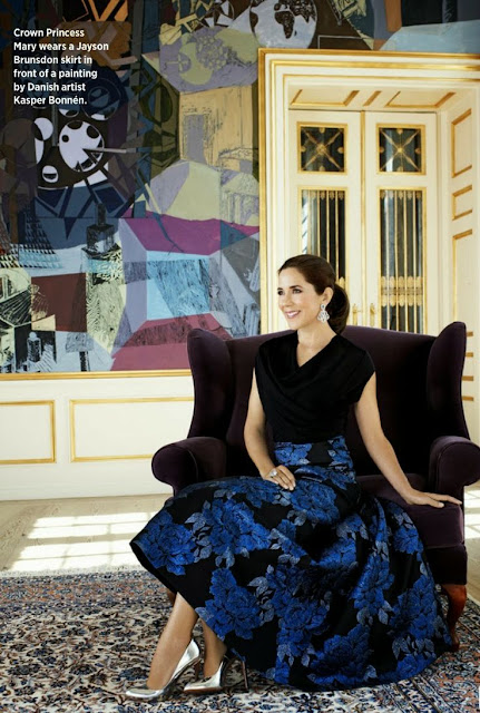 Crown Princess Mary for Women's Weekly