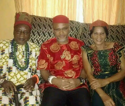 Biafra: What will happen If my son is re-arrested - Nnamdi Kanu's father blows hot