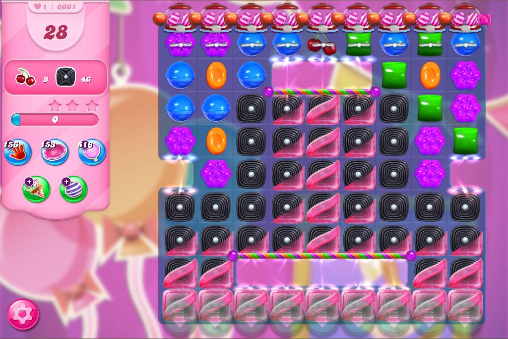 Candy Crush Saga level 6001