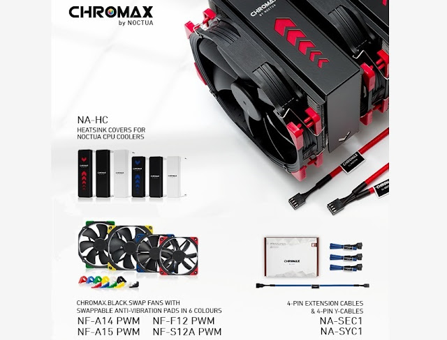 Noctua Released New Chromax Products