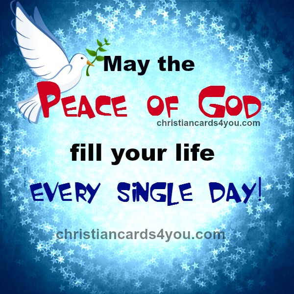 free christian quotes about God's peace