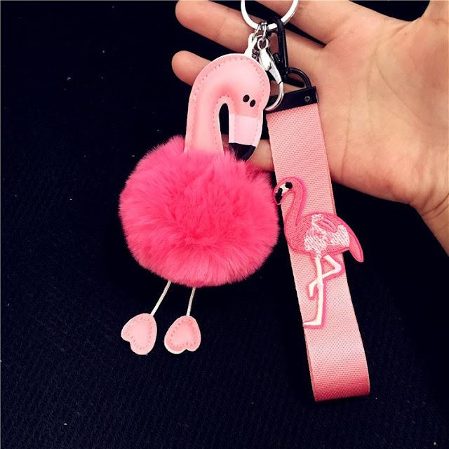 Flamingo висулка ключодържател кола ключодържател чанта