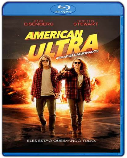 Download American Ultra Armados e Alucinados AVI Dual Áudio BDRip Torrent
