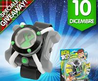 Logo Vinci gratis un Orologio Omnitrix BEN10 per il tuo bambino