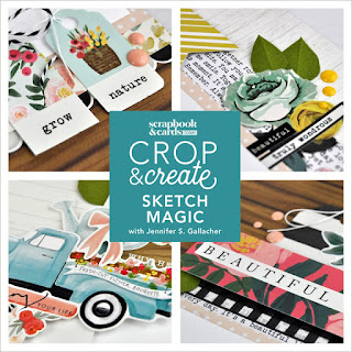 SCT Magazine Crop & Create Calgary 2019 Class with Jen Gallacher #scrapbooker #scrapbooking #sctmagazine