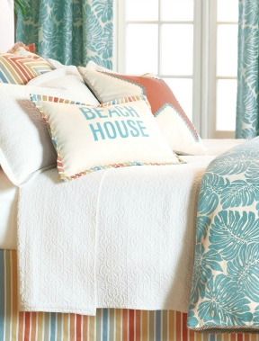 Coastal Bedding Eastern Accents