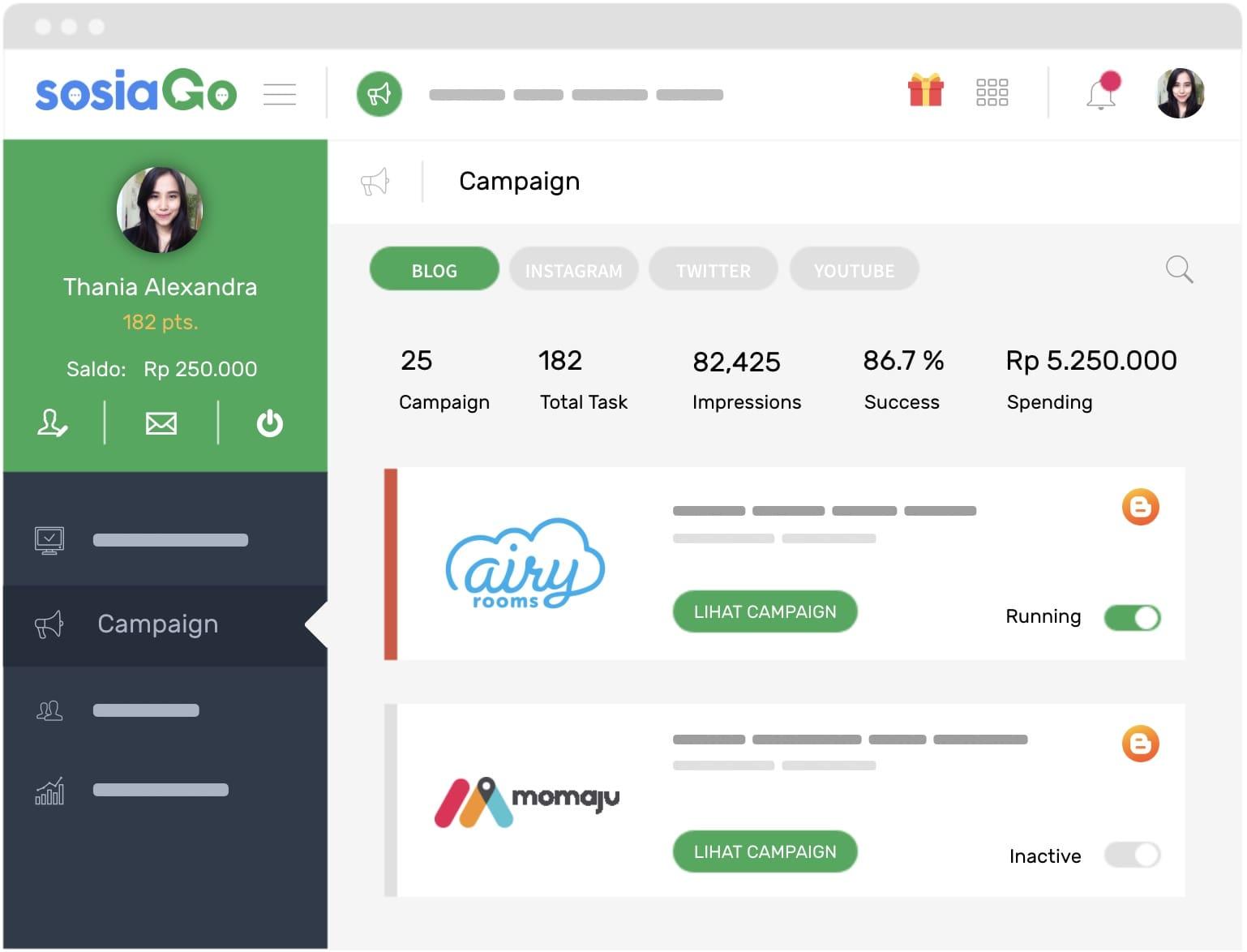 Coba SOSIAGO Influencer Marketing Terbaik di Indonesia