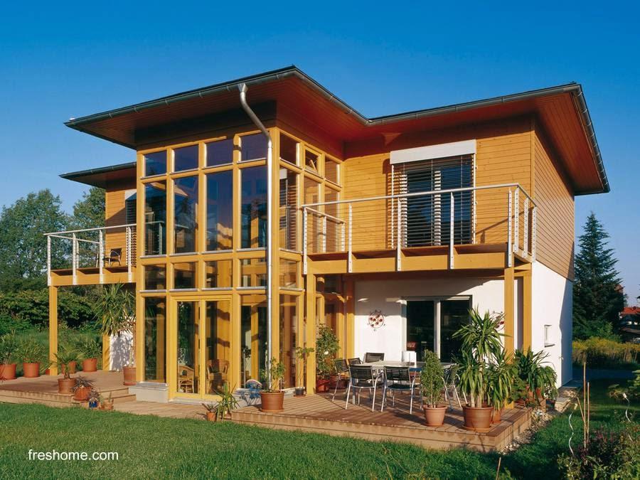 Casa prefabricada pasiva en Alemania