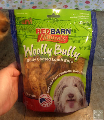 Redbarn woolly bully bully coated lamb ears