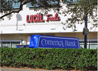 LOCAL FOODS - COMERICA BANK (signage)
