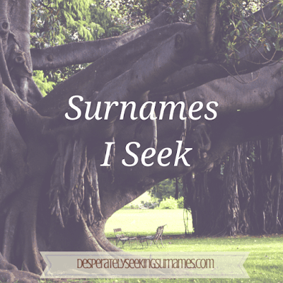 Surnames I Seek - Surname Origins and Locations