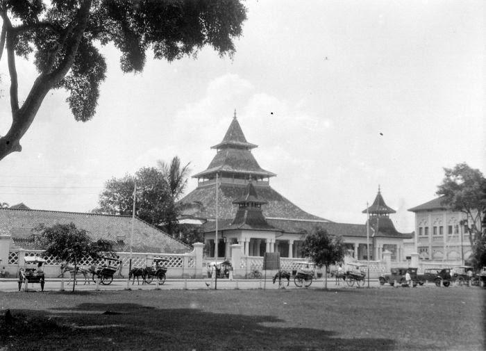 Mesjid Agung Bandung Tempo Doeloe