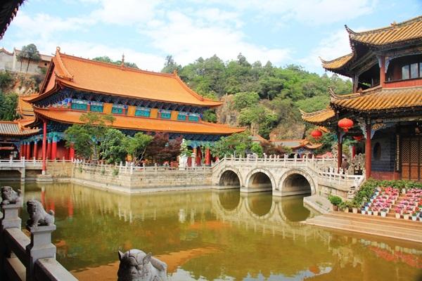วัดหยวนทง (Yuantong Temple) @ www.voyagesyunnan.com