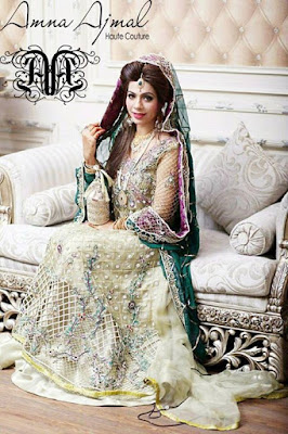 Amna Ajmal bridal wear & groom dresses 2017 collection (9)