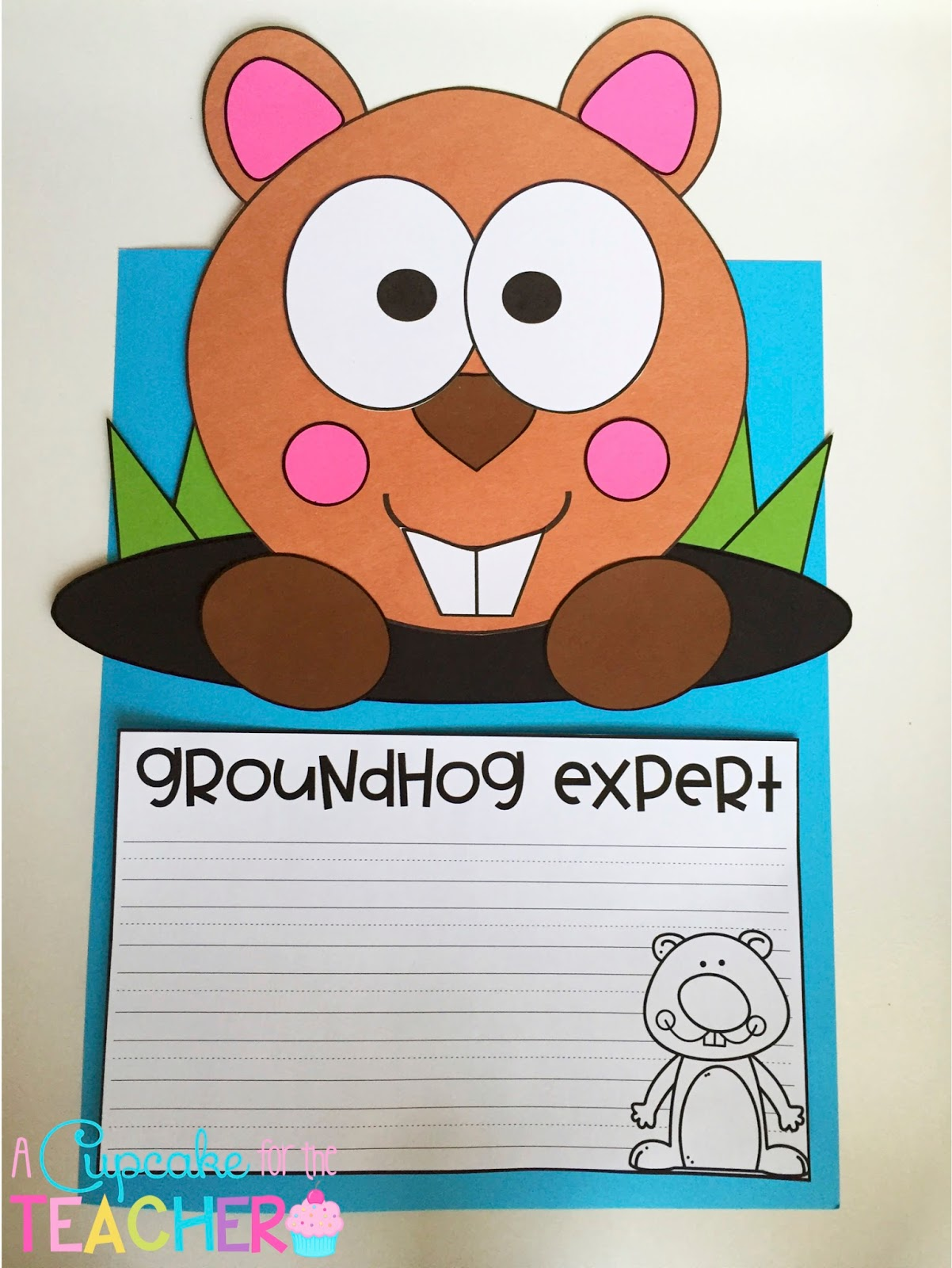 Groundhog Day Free Printable Worksheet