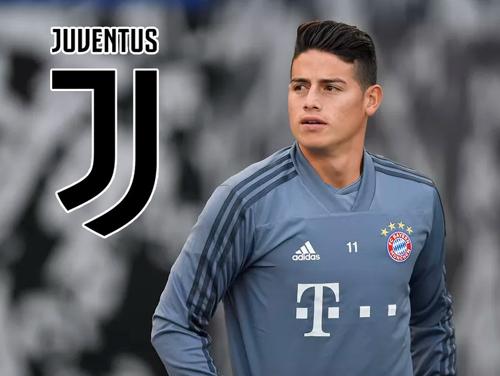 Juventus gây sốc với... James Rodriguez
