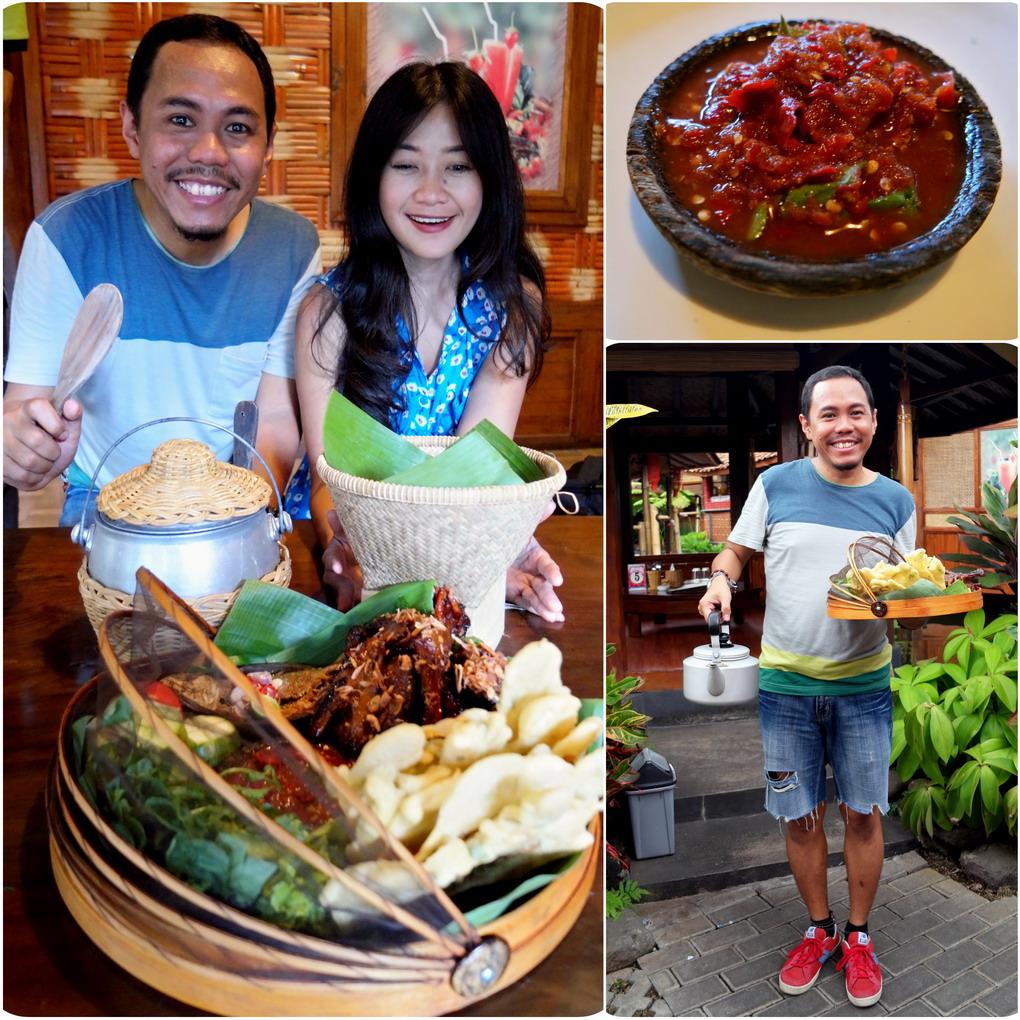 Lidah Di Goyang Pak Asep Stroberi Blog Indonesia Tcash Juli Produk Ukm Bumn Egg Roll Labu Kuning Rumah Makan Nasi Liwet Garut Tasik
