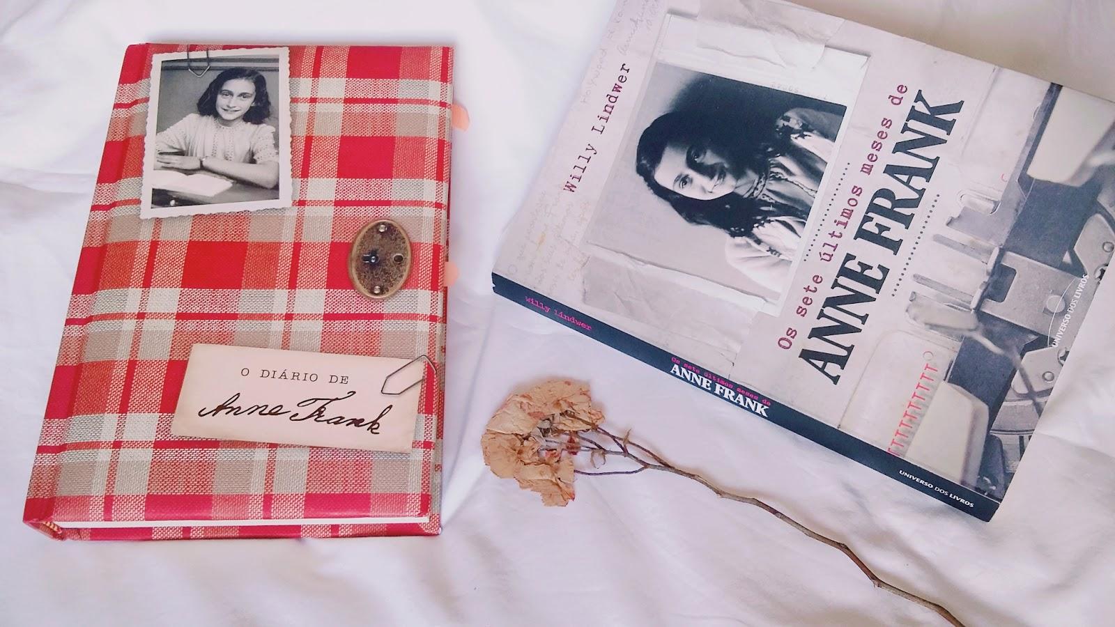 Amiga Da Leitora Resenha Os Sete últimos Meses De Anne Frank