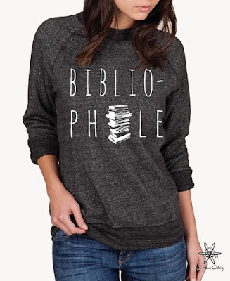 Bibliophile Shirt from Etsy courtesy of Tomes and Tequila Blog