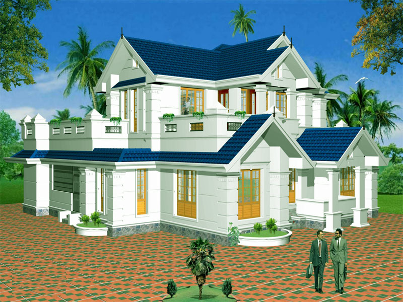 beautiful house design wallpaper - House Picture Download