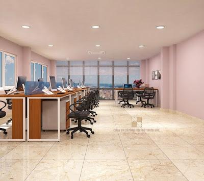 Thiết kế nội thất phòng làm việc đẹp để làm việc hiệu quả hơn - H2