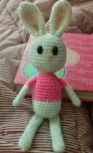 http://www.ravelry.com/patterns/library/free-cute-pink-easter-bunny-pattern