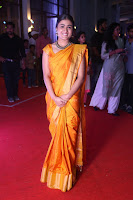 Shalini Pandey in Beautiful Orange Saree Sleeveless Blouse Choli ~  Exclusive Celebrities Galleries 045.JPG