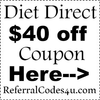 Diet Direct Promo Codes 2017, DietDirect Coupon February, March, April, May, June 2017